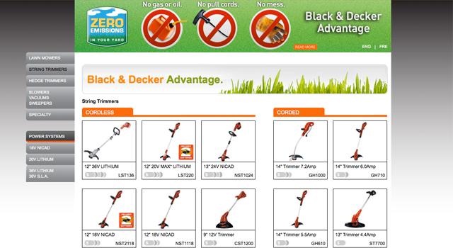 Black & Decker – Green Week