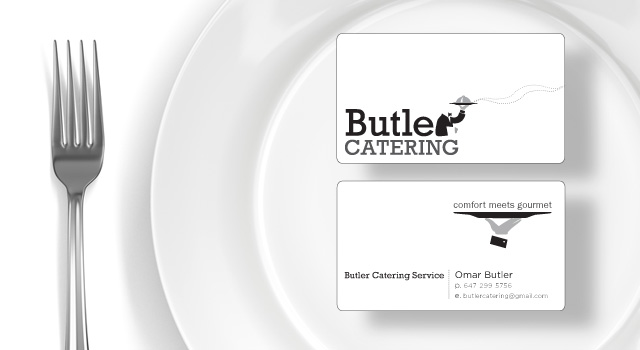 Butler Catering Identity